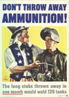 """Don't Throw Away Ammunition"""