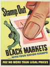 """Stamp Out Black Markets With Your Ration Stamps"""